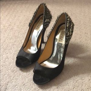 Badgley Mischka Black Heels